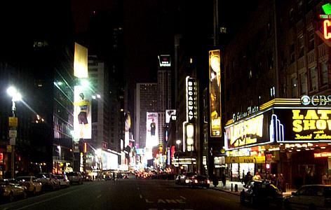 Broadway-TimesSq-night