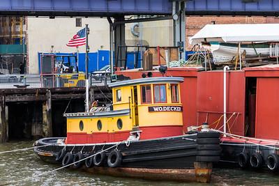 W O Decker Tugboat
