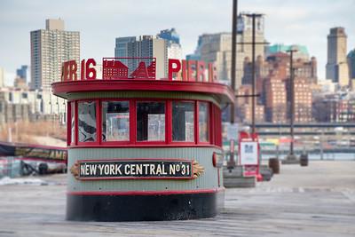 New York Central No 31 Pilot House