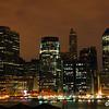 Part of the Manhattan skyline.