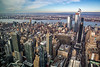 West View From Empire State Building - Hudson River