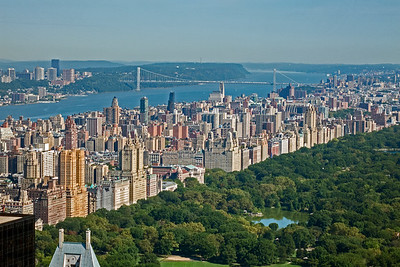 Central Park, Upper East Side, and Manhattan Bridge
