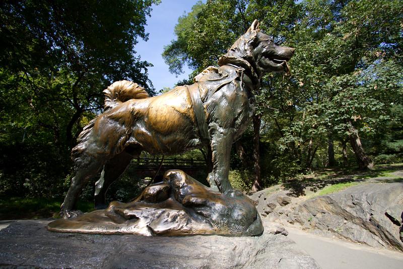 """Balto Central Park <a href=""""http://wklein.smugmug.com/Travel/New-York-City"""">http://wklein.smugmug.com/Travel/New-York-City</a>"""