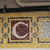 Sunday - tiles at the Cortland Street subway station (1 of 2)