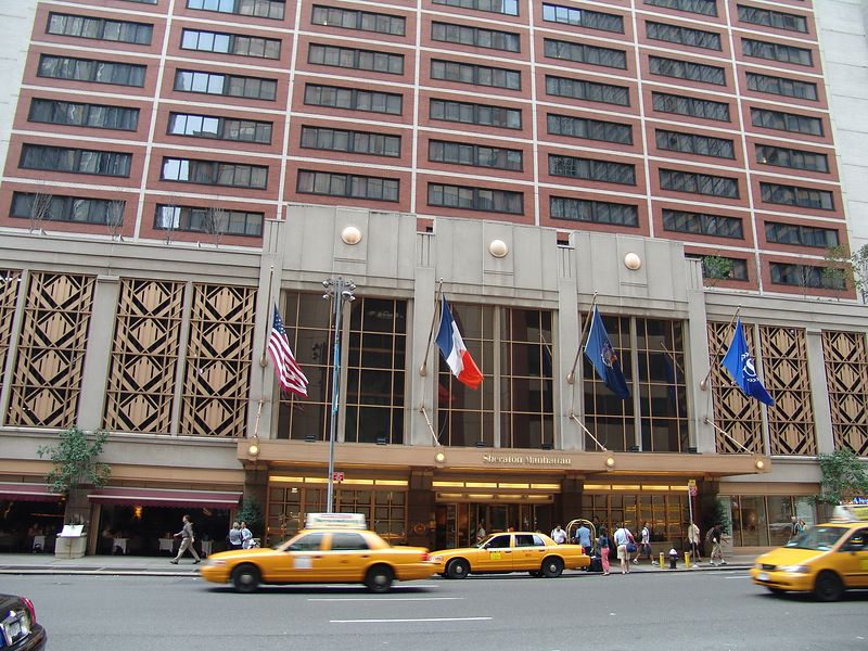 My hotel - Sheraton Manhattan