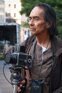 A very serious photographer with a Hasselblad, haven't used one of these in 25 years