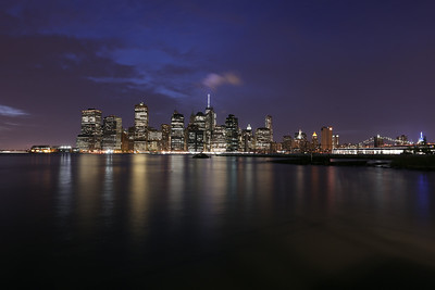 Manhattan Night Scene