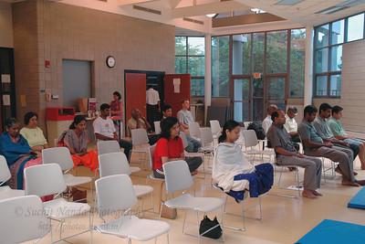 Satsang in NJ, USA. Aug 2004