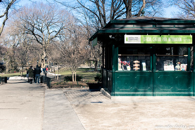 Entry to central park - afternoon sightseeing