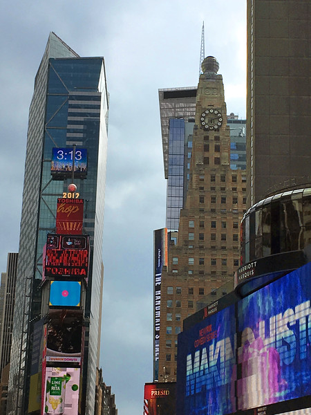 One Times Square (at left)
