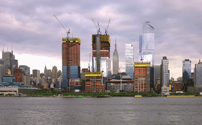 Midtown from the Hudson