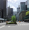 Park Ave  looking south, Lever House at the right