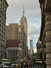 Fifth Avenue and Empire State Building