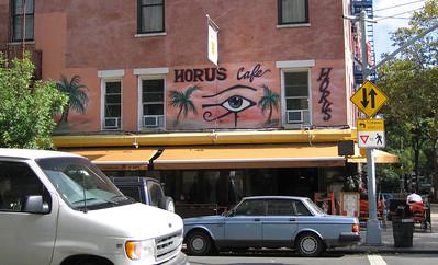 Horus Cafe, Manhattan. 14 Oct 2007