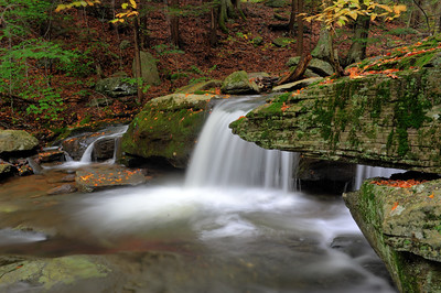 Platt Clove Waterfall, Catskills, New York