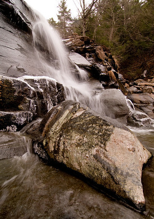 Kaaterskill Falls, New York. March 2009.