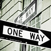 One Way, New York, USA