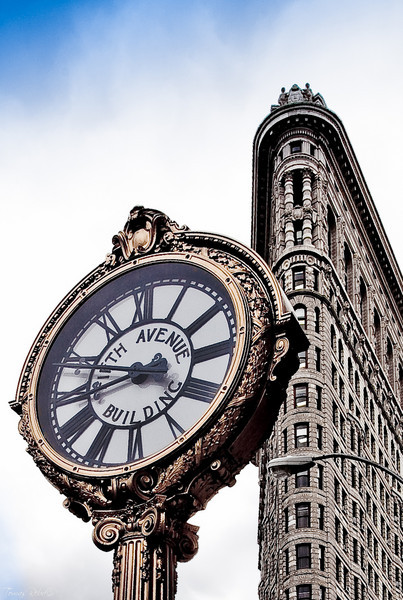 Flatiron building, West 23rd street, New York, USA