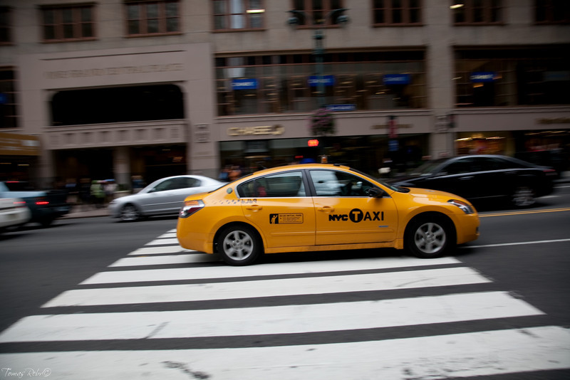 NY taxi, Manhattan, New York, USA