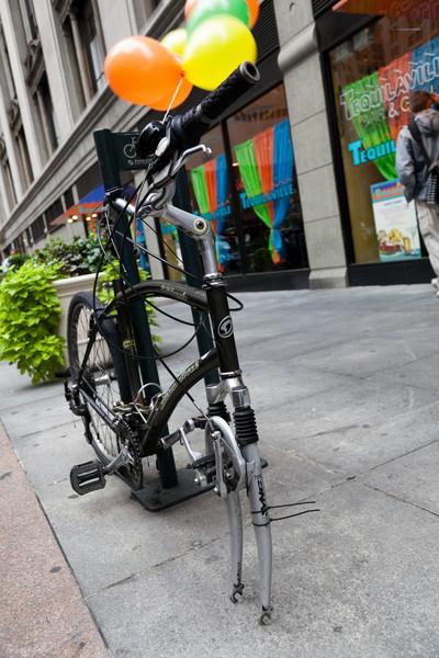 Funny bike, New York, USA