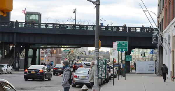 Hi-Line Park, New York
