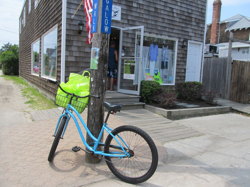 Bikes, Fire Island, NY 7.17.12 Copyright Sue Steinbrook