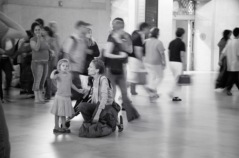 6pm Sunday afternoon, Grand Central Station - NYC, August 2006