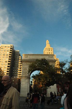 Washington Square park, Greenwich Village