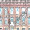 Windows in Brick, Bath, Steuben County, New York