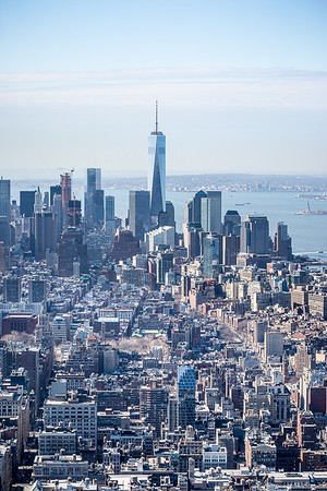 From the top of the Empire State Building