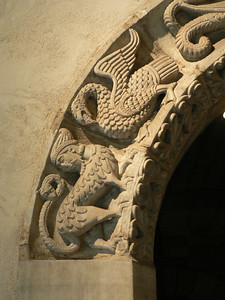 Detail of a doorway