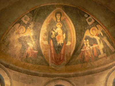 Lots of religious statues and frescoes at the Cloisters - it is a museum of medieval art