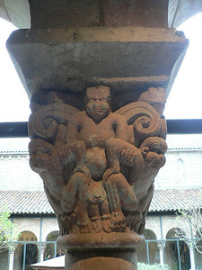 Detail of a column capital