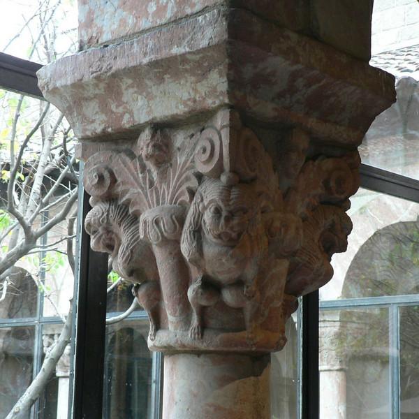 Detail of a column capital