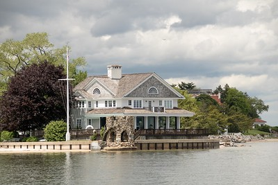 Private House at the Entrance to Oyster Bay Harbor