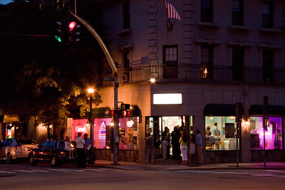 The Carvel in Oyster Bay on a summer Night