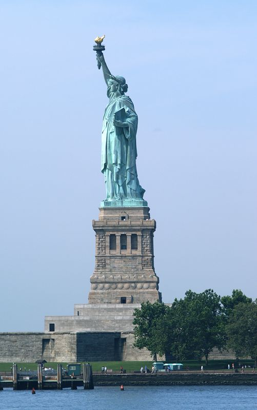 Statue of Libery from the Ferry