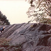 Benjamin Playing on Rocks in Central Park, New York City - 10/19/85