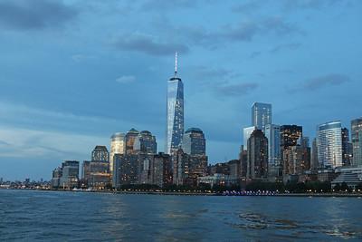 New York City Skyline from Hudson River