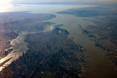 Lower Manhatten from the Air
