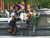 The sun came out for my visit to Washington Square Park, where I found lots of people enjoying themselves