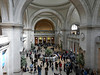 Lots of people, lots of arches - the Met's main entrance