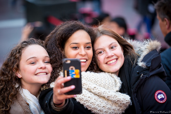 Times Square: Paradise for smartphones and selfies
