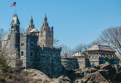 Belvedere Castle, Central Park & San Remo Apartments: Spring 2013
