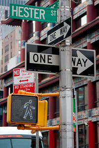 Which way to New York