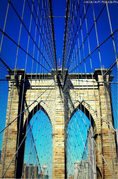 A few more Brooklyn Bridge snaps...my favourites!