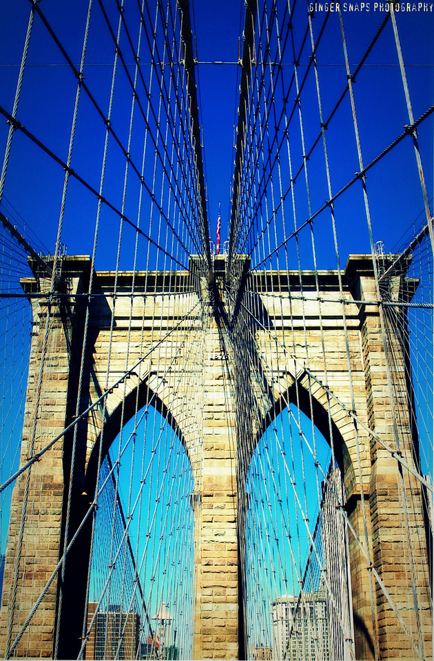 A few more Brooklyn Bridge snaps...my favourites!