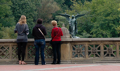 Bethesda Fountain Terrace, Central Park - Summer, 2011
