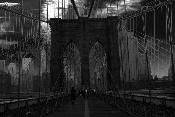 bridge bw weird_7695