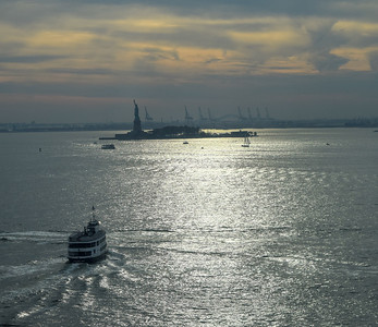 Harbor & Liberty Island